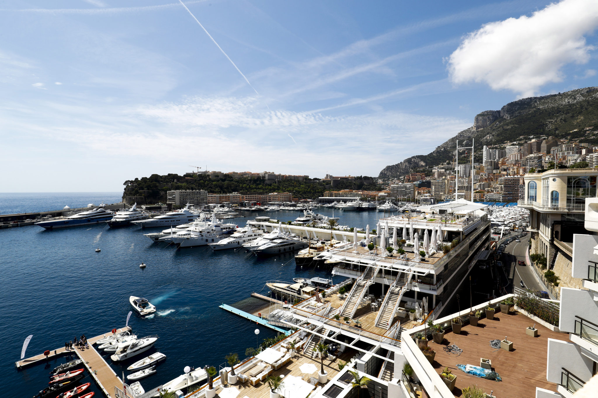 Grand Prix de Monaco - Harbour view