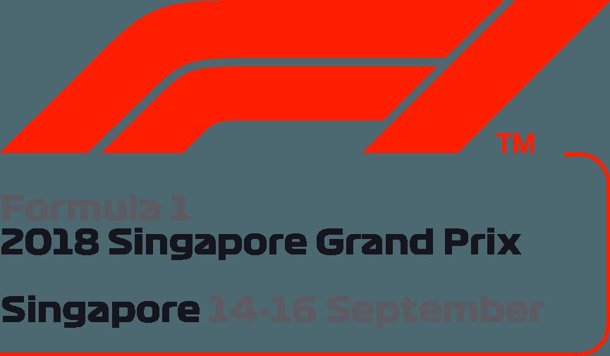 2017 Formula 1 Singapore Airlines Singapore Grand Prix Logo