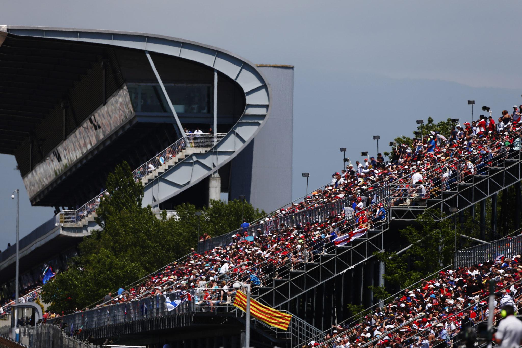 F1 Grandstand at the Spanish Grand Prix